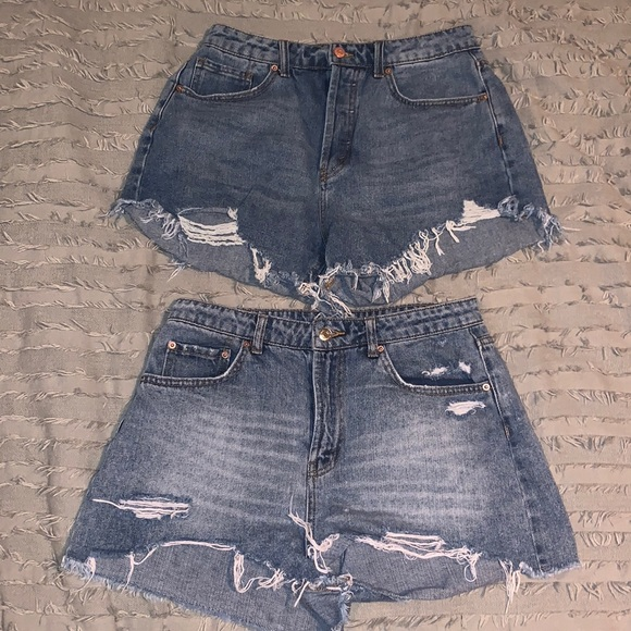 Wild Fable Distressed High Rise